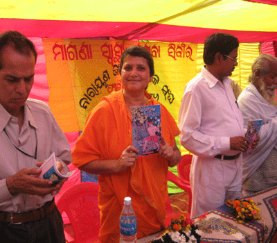 Book Release before the Health Camp