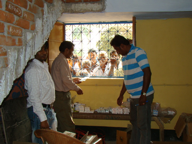 Free Medicines were distributed to around 700 patinets in the Camp