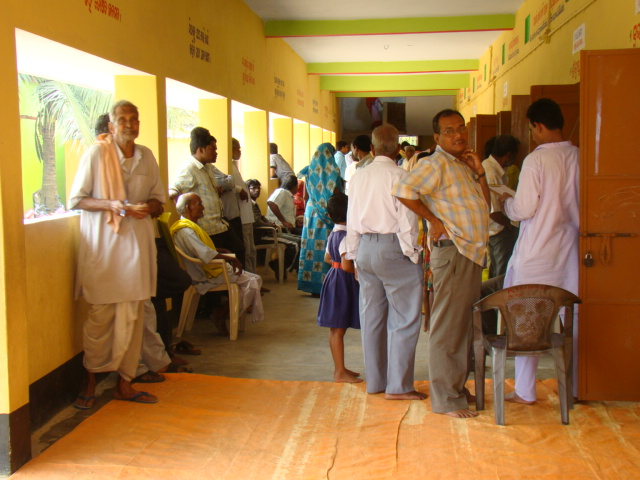 Health Camp at Kakatpur-2011